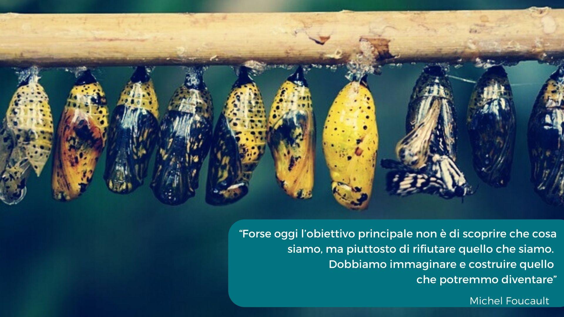 Foto con citazione Foucault
