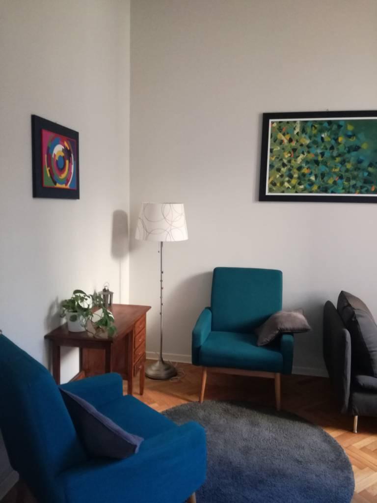 Foto dello studio di psicoterapia in centro a Padova